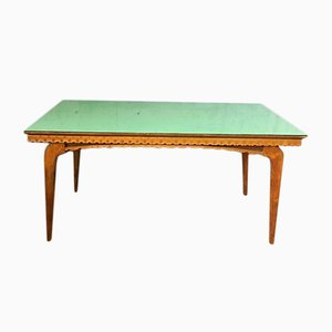 Mid-Century Italian Wooden Dining Table, 1960s