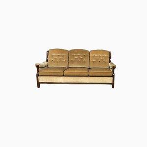 Mid-Century Wooden Sofa, 1960s