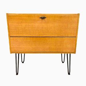 Mid-Century Metal and Wood Dresser, 1960s
