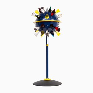 Postmodern Italian Glass Table Lamp by Alessandro Mendini for Venini, 1994