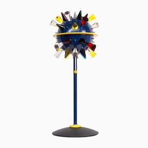 Postmoderne italienische Tischlampe aus Glas von Alessandro Mendini für Venini, 1994