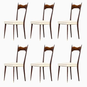 Dining Chairs, 1960s, Set of 6