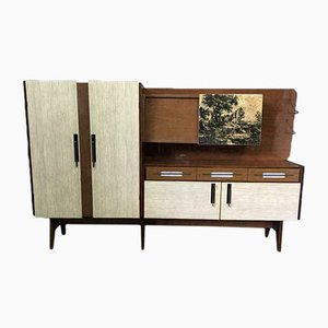 Large Mid-Century Italian Wall Unit, 1960s