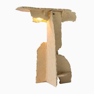 Tischlampe aus gerissener Keramik von Kiki Van Eijk & Joost Van Bleiswijk
