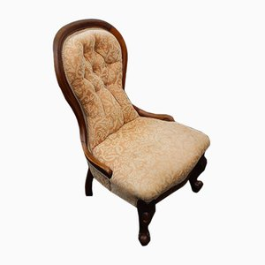 Antique Mahogany Armchair, 1910s