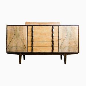 Furniertes Sideboard von Rajmund Teofil Hałas für Jarocińska Fabryka Mebli, 1960er