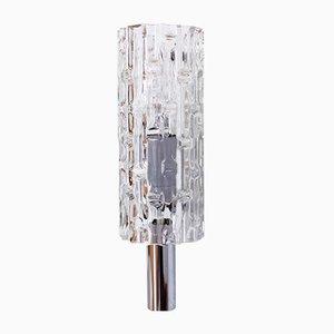 Deutsche Wandlampe aus verchromtem Metall von Doria Leuchten, 1960er