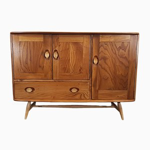 Beech and Elm Sideboard by Lucian Ercolani for Ercol, 1960s