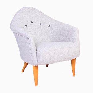 Skandinavischer moderner Sessel von Kerstin Hörlin-Holmquist für Nordiska Kompaniet, 1950er