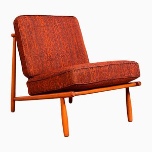 Beech Lounge Chair by Alf Svensson for Dux, 1952