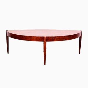 Table Basse Scandinave en Palissandre par Johannes Andersen pour Trensum, 1950s