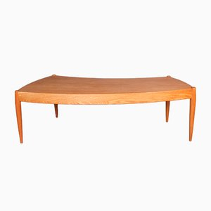 Danish Oak Coffee Table by Johannes Andersen for AB Trensums Fåtöljfabrik, 1950s