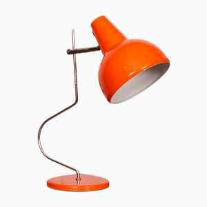 Orange Table Lamp by Josef Hurka for Lidokov, 1960s
