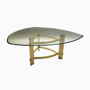 Bronze and Glass Coffee Table, 1970s