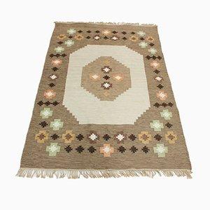 Large Mid-Century Swedish Wool Carpet, 1950s