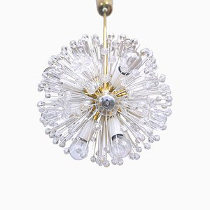 Snowball Sputnik 14 Lights Chandelier by Emil Stejnar for Rupert Nikoll, 1950s