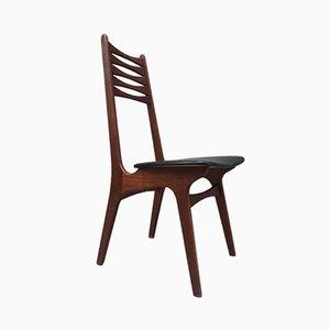 Schreibtischstuhl aus Teakholz von Niels Otto Møller für Boltinge Stolefabrik, 1960er