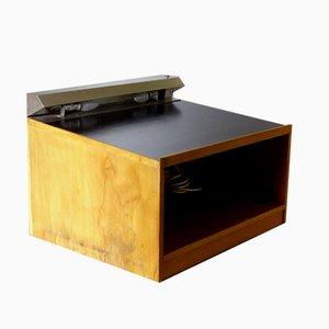 Mid-Century Industrial German Ash Lectern Desk by Ferdinand Kramer, 1959