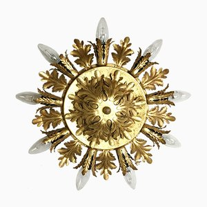 Italian Metal Ceiling light from Banci Firenze, 1950s
