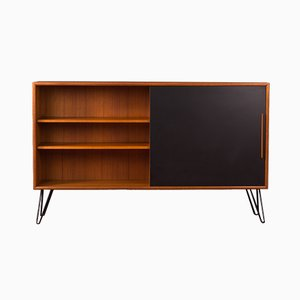 German Steel, Teak, and Veneer Sideboard from WK Möbel, 1960s