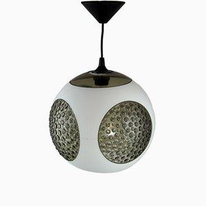 Weiße UFO Deckenlampe aus Kunststoff von Luigi Colani, 1970er