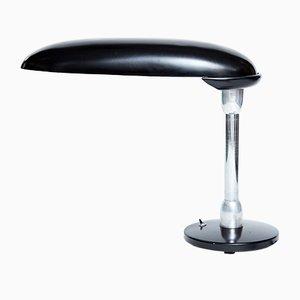 Lampe de Bureau Bauhaus en Chrome et Métal, 1930s