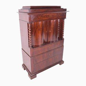 Antique English Mahogany Cabinet