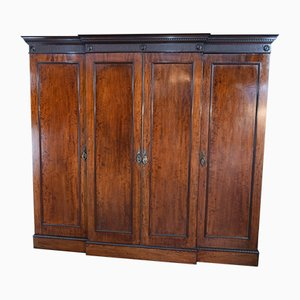 19th Century Georgian Style Mahogany Wardrobe