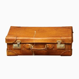 Leather Suitcase, 1940s