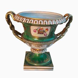 Jarrones antiguos en forma de urna de Carl Thieme. Juego de 2