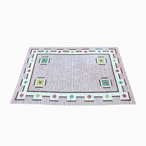 Large Swedish Flat-Weave Carpet, 1950s