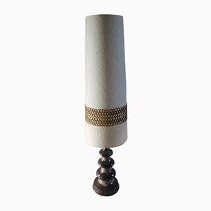 Deutsche Vintage Stehlampe aus Keramik, 1970er