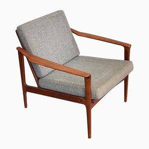 Skandinavischer Stuhl von Ib Kofod Larsen für Selig, 1960er