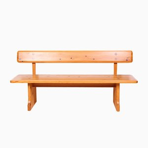 Mid-Century Pine Bench by Carl Malmsten for Karl Andersson and Söner, 1960s