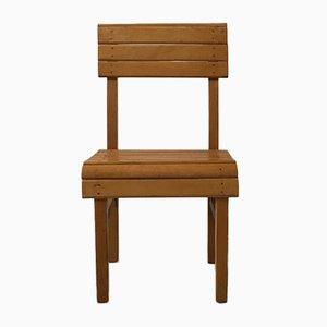 Antiker Kinderstuhl aus Holz
