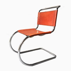MR10 Chairs by Ludwig Mies van der Rohe for Fasem, 1983, Set of 4