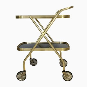 Chariot Pliant en Plastique et Aluminium Anodisé, 1960s