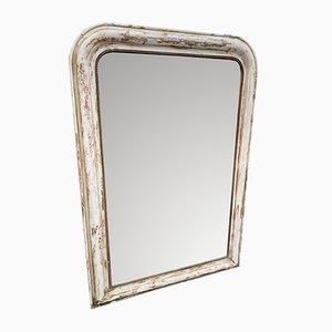 Specchio in legno intagliato, Francia, XIX secolo