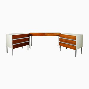 Teak and Formica OPUS 22 Bedroom Set by Walter Muller for Stag, 1960s