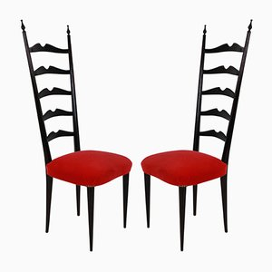 Side Chairs by Paolo Buffa, 1940s, Set of 2