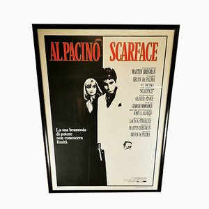 Vintage Scarface Movie Poster, 1980s