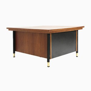 Mid-Century Italian Coffee Table with Drawer, 1960s