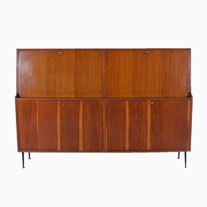 Mid-Century Italian Wooden Sideboard, 1950s