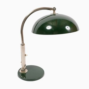 Chrome Plating Table Lamp by H. Th. J. A. Busquet from Hala Zeist, 1950s