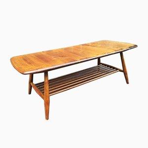 Table Basse Mid-Century en Orme de Ercol, 1969