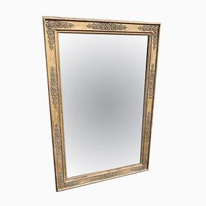 Antiker französischer Spiegel im vergoldeten Rahmen