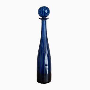 Vase Vintage en Verre Soufflé à la Main par Gio Ponti pour Venini, Italie, 2004