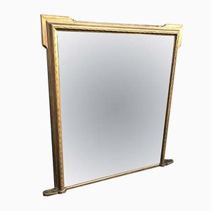 Grand Miroir de Cheminée Antique