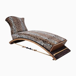 Italian Arched Chaise Lounge, 1970s