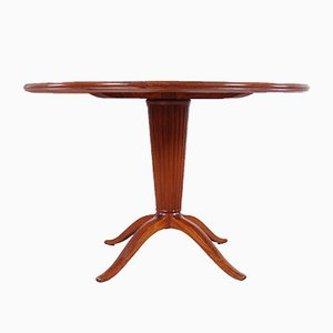 Round Mid-Century Italian Dining Table, 1950s